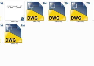 CAD比例尺绘图专用一套8组