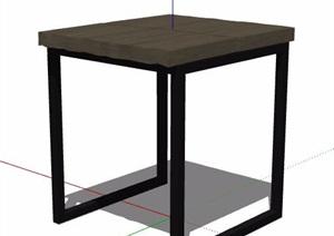 木凳坐凳家具素材SU(草图大师)模型