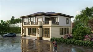 新中式二層別墅