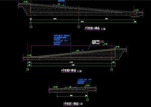 某详细的坡道设计cad详图