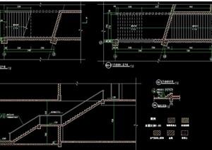 兩層詳細的樓梯設計cad施工圖天正打開