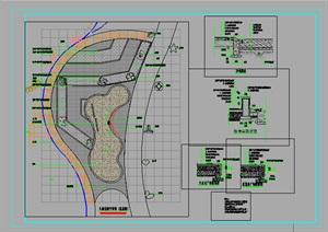 园林景观儿童乐园12星座的施工图