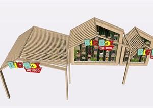儿童玩具商铺展览SU(草图大师)素材模型
