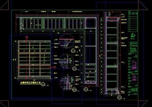 法式别墅存酒架详细设计cad施工详图