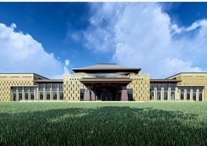 敦煌天河大酒店主方案  (1)内容丰富详细,具有很高的学习价值,值得下载