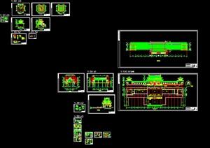 022-珠海普駝寺廟的建筑施工圖