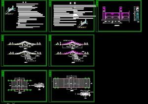古典石桥建筑图,cad施工图内容丰富详细,具有很高的学习价值,值得下载