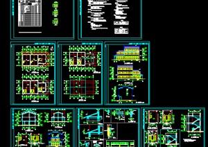 古建筑全套施工图,cad施工图内容丰富详细,具有很高的学习价值,值得下载