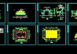 060-金殿建筑施工图纸