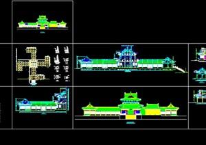 064-罗汉堂建筑图施工图