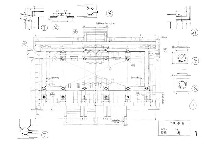 085-大学古建筑测绘图(2)