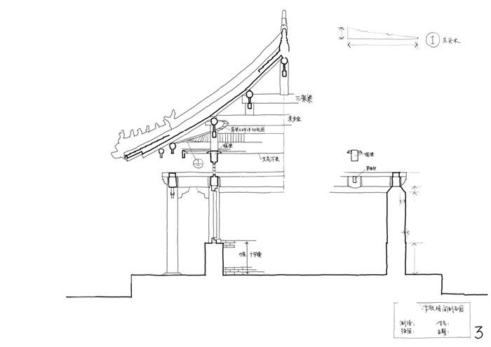 085-大学古建筑测绘图(4)