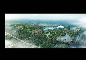 003 成都市青白江区凤凰湖国际生态湿地旅游度假区规划