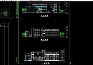 某小学建筑设计cad方案图