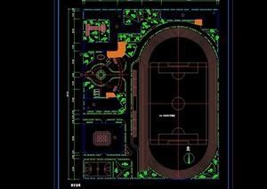 某详细的小学规划设计2个方案 含设计说明和指标