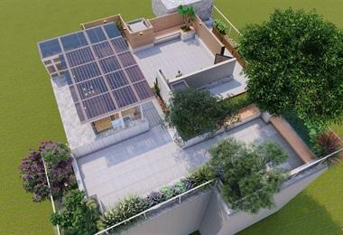 某居民屋頂花園設計施工