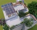 某居民屋顶花园设计施工