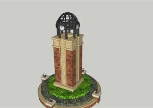 钟楼111----模型丰富详细材质清晰,具有很高的学习价值,值得下载