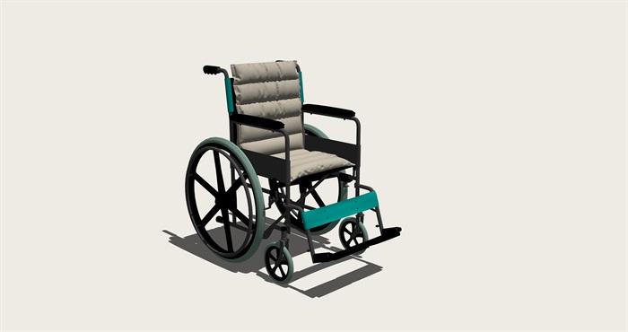 高精度模型-轮椅(1)