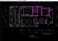 某詳細的住宅完整別墅室內空間設計cad施工圖
