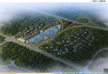 修文縣主城區主入口景觀提升改造方案