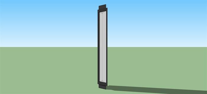 現代風格三角造型壁燈(2)