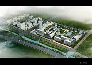 深福保天津张家窝创意产业园详规及一期方案