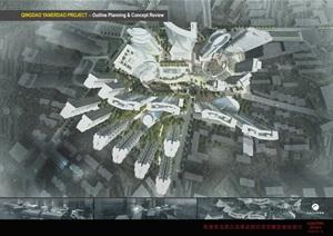 青岛燕儿岛商业综合项目概念规划设计