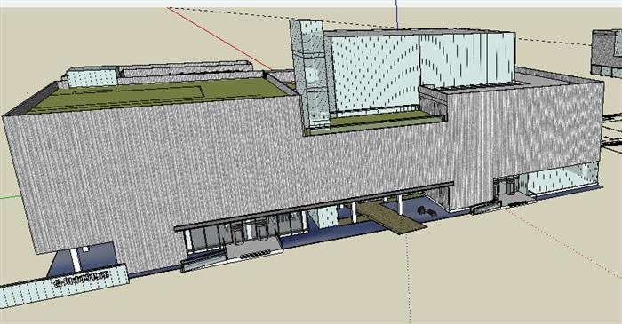 臺州博物館完整(室內室外含CAD)(1)