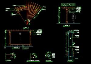 弧形廊架------------内容丰富详细,具有很高的学习价值,值得下载