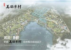 武汉鲁能孝感美丽乡村策划定位及概念规划-东方园林(248页)