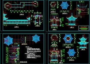 廊亭古建筑图------------内容丰富详细,具有很高的学习价值,值得下载