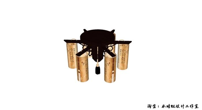 一個中式燈(1)