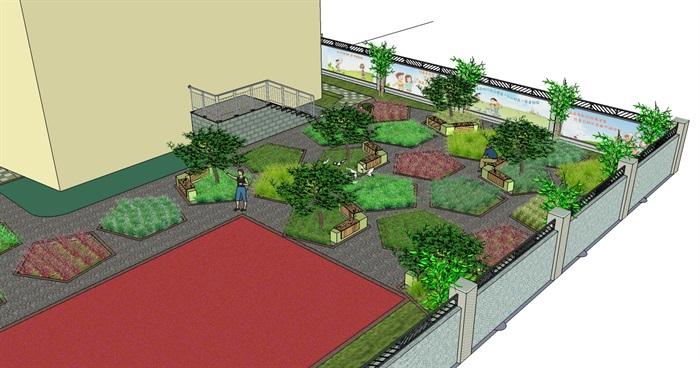 庭院花园模型 (28)(2)