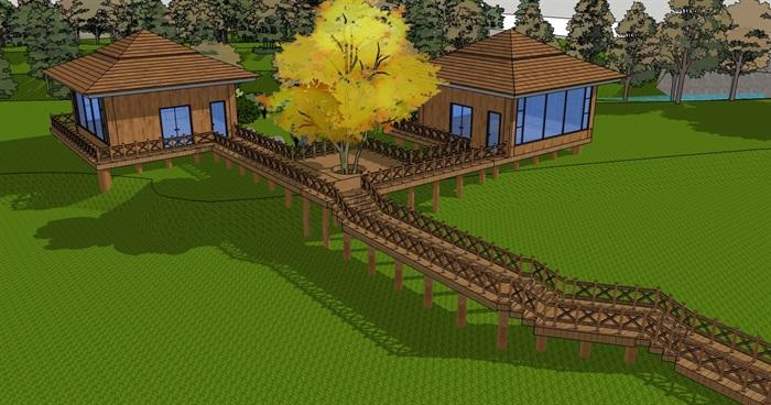 庭院花園模型 (29)(1)