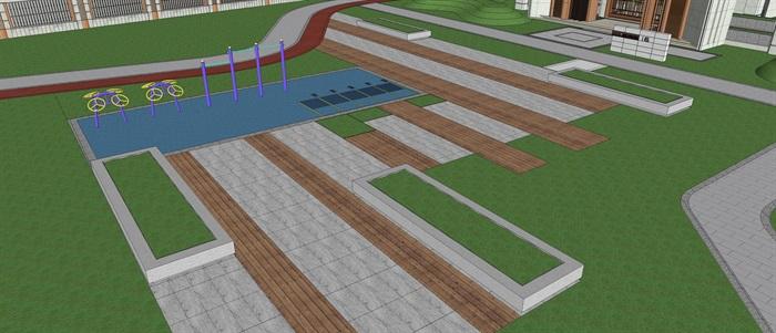 新城樾山公馆 大都会 宠物乐园 现代 水景 廊架 儿童活动场地 架空层(6)