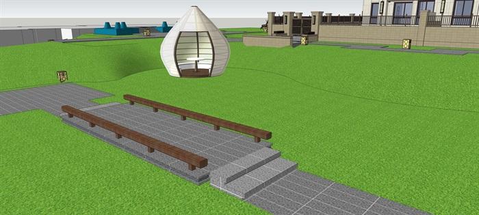 别墅入户 异形模型 休闲区 鹿雕塑 现代 蚂蚁3(4)