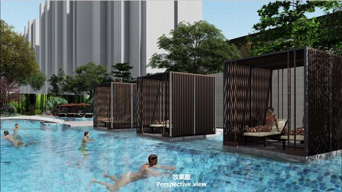 泳池主题空间 儿童区 休息区 售楼部1(2)