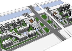 办公、居住综合区规划方案-------内容丰富详细,具有很高的学习价值,值得下载