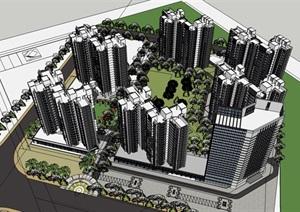 北京一小区模型-------内容丰富详细,具有很高的学习价值,值得下载