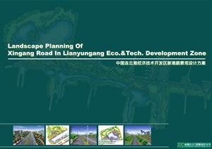 连云港经济开发区新港路景观设计方案