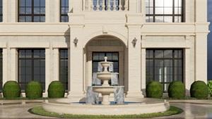 法式别墅工程案例