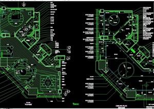 某酒店商务套房设计cad施工详图