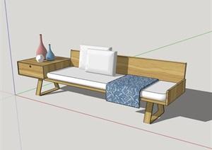 座椅室内家具素材设计SU(草图大师)模型