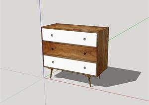 柜子室内家具素材设计SU(草图大师)模型