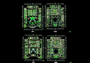 某KTV空间设计cad平面详图