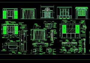 窗帘盒详细设计cad施工图