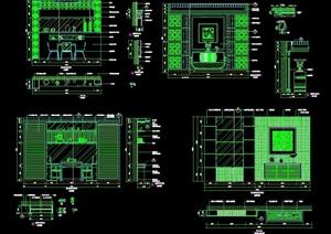 造型墙设计cad施工详图