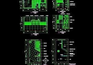 卫生间设计cad施工详图