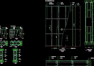 隔墙设计cad施工详图